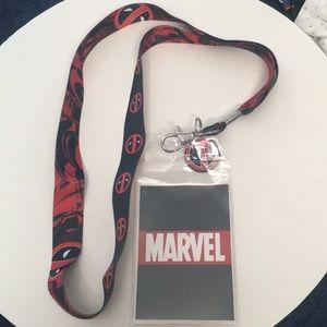 Marvel Deadpool Lanyard